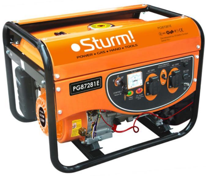 Бензиновый генератор Sturm!