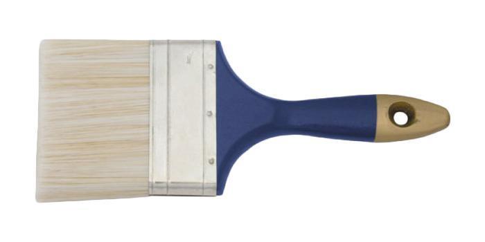 Кисть флейцевая FitКисти малярные<br>Тип кисти: плоская,<br>Щетина: смешанная,<br>Толщина: 75,<br>Ширина: 75,<br>Материал рукоятки: древесина,<br>Размер: 75,<br>Материал: пластик,<br>Вес нетто: 0.1<br>