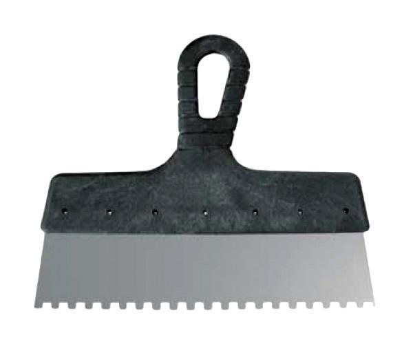 Шпатель FitШпатели<br>Материал лезвия: сталь,<br>Зубцы: есть,<br>Ширина: 250,<br>Длина (мм): 20.5,<br>Вес нетто: 0.2<br>