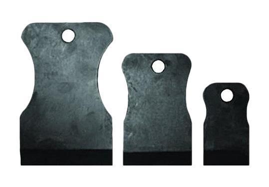 Шпатель FitВспомогательный малярный инструмент<br>Тип: набор шпателей,<br>Материал: резина,<br>Материал рукоятки: резина<br>