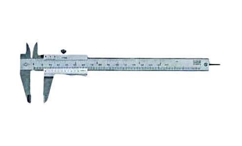 Штангенциркуль FitЛинейки и штангенциркули<br>Тип: штангенциркуль,<br>Длина (мм): 150,<br>Погрешность нивелирования: 0.02<br>