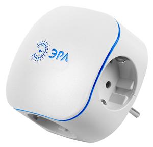 Тройник ЭРААксессуары для электромонтажа<br>Тип аксессуара: тройник,<br>Степень защиты от пыли и влаги: IP 20,<br>Сила тока: 10,<br>Количество гнезд: 3,<br>Шторки: есть,<br>Заземление: есть,<br>Цвет: белый<br>