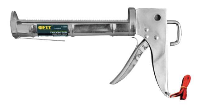 Пистолет для герметика FitПистолеты для монтажной пены и герметика<br>Тип: для герметика, Объем картриджа (тубы): 310<br>