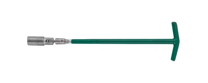 Ключ свечной FitГоловки свечные<br>Тип: трубчатый,<br>Размер ключа (метрический): 21,<br>Длина (мм): 500<br>
