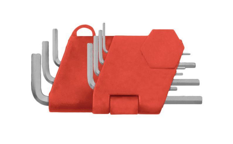 Набор торцевых шестигранных ключей в держателе, 7 шт. Fit