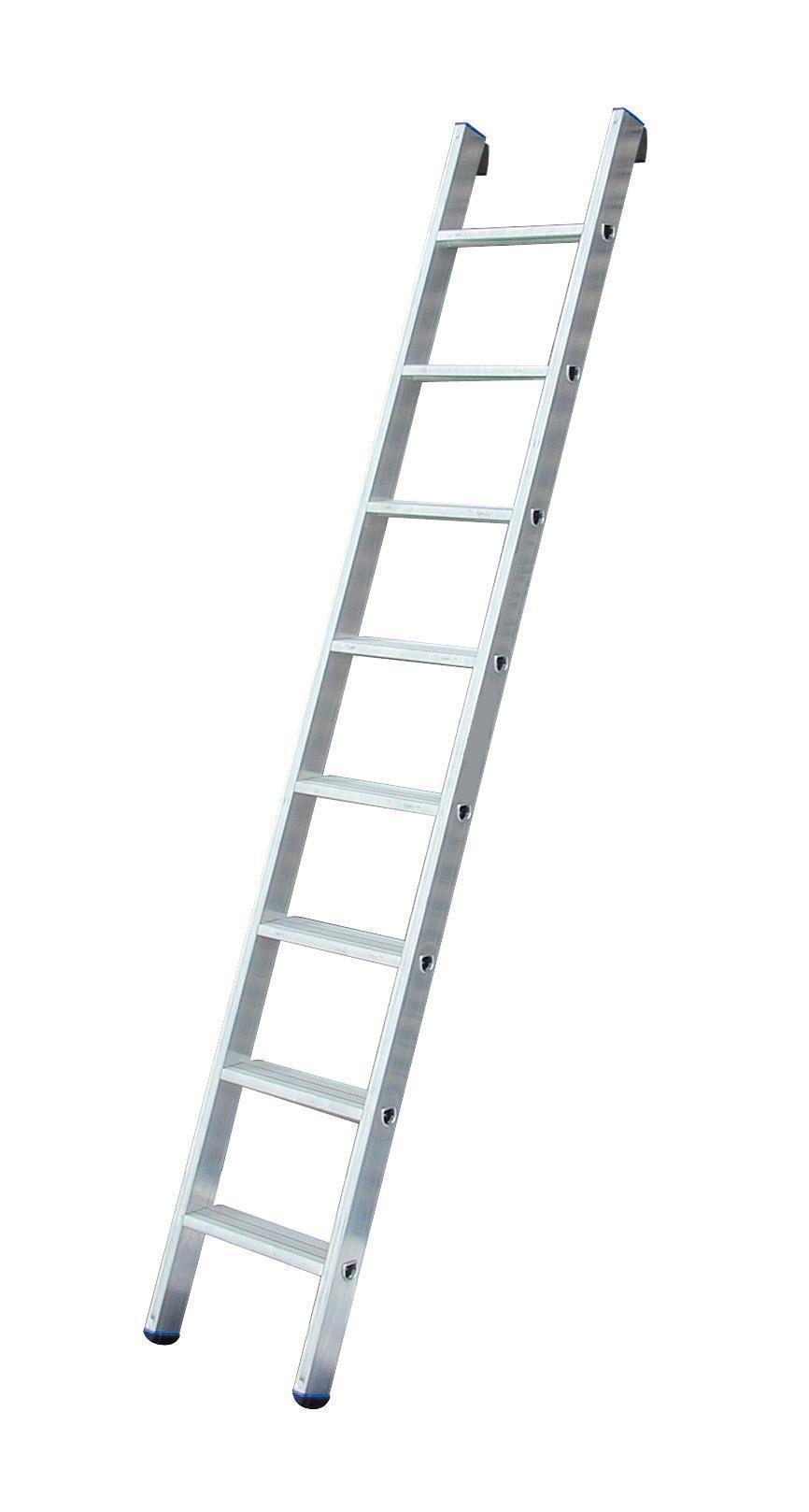 Лестница алюминиевая приставная Fit