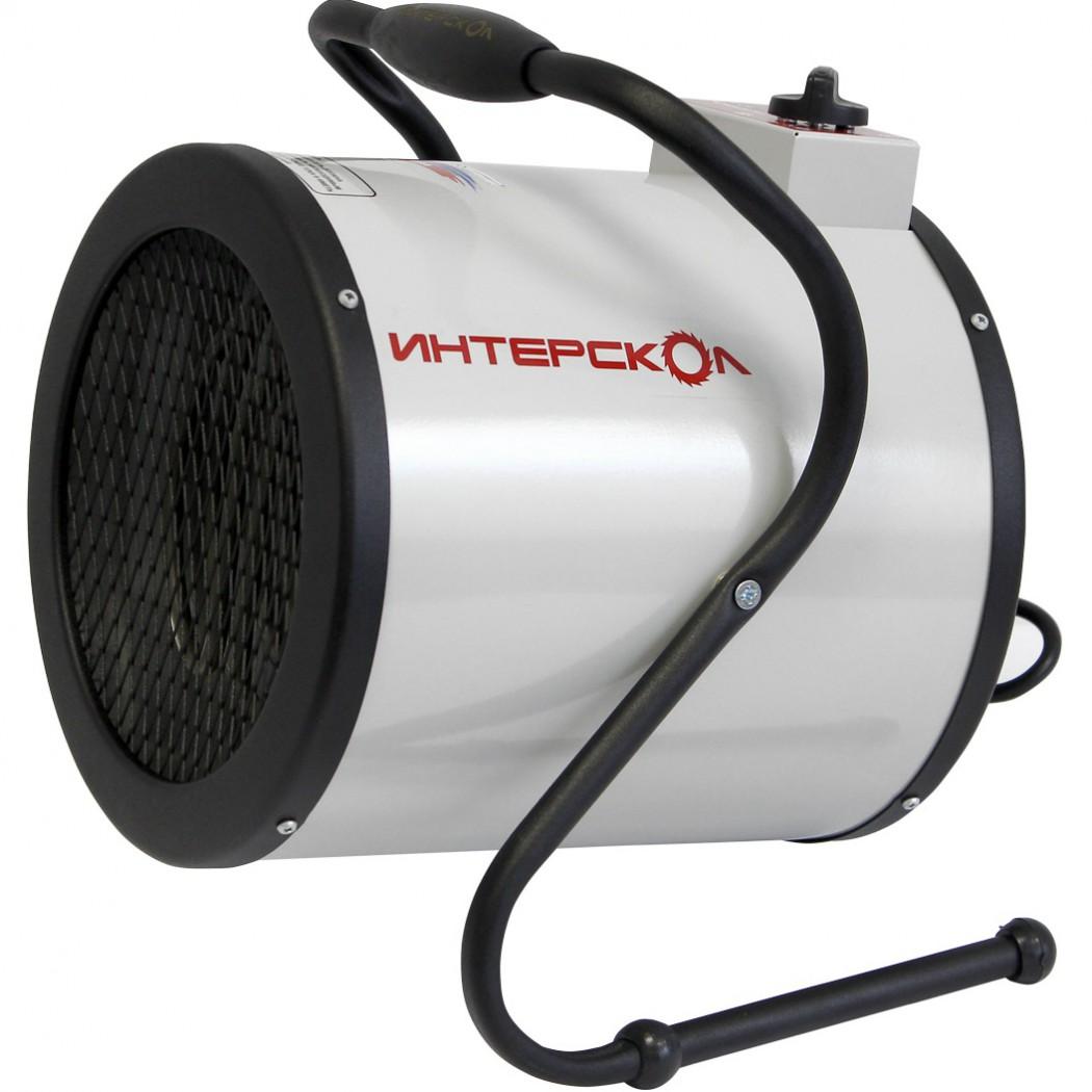 Электрическая тепловая пушка ИНТЕРСКОЛТепловые пушки и нагреватели (промышленные)<br>Тип тепловой пушки: электрические,<br>Мощность: 4500,<br>Способ нагрева: прямой,<br>Мобильность: переносной,<br>Производительность (м3/ч): 400,<br>Регулировка мощности: есть,<br>Защита от перегрева: есть,<br>Вес нетто: 3,<br>Напряжение: 220<br>