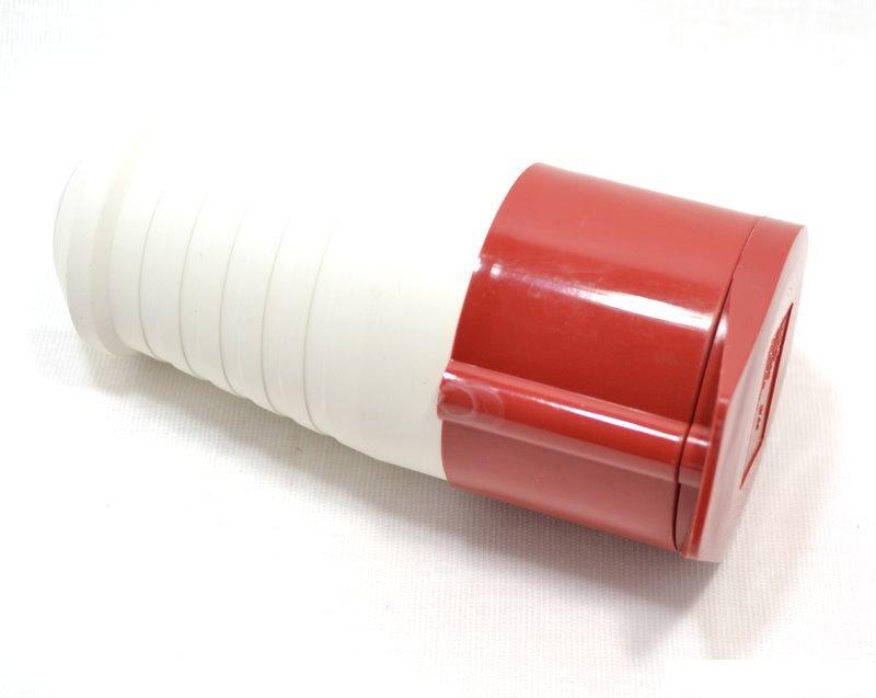 Розетка кабельная IekСиловые разъемы<br>Тип изделия: розетка,<br>Напряжение: 380,<br>Способ монтажа: переносная,<br>Сила тока: 16,<br>Количество контактов: 5,<br>Заземление: есть,<br>Степень защиты от пыли и влаги: IP 44,<br>Цвет: красный<br>