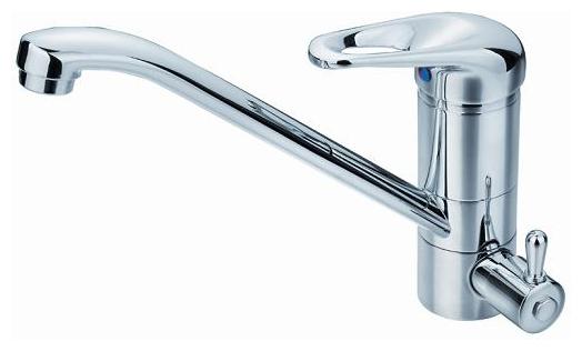 Смеситель OsgardСмесители<br>Назначение смесителя: для кухонной мойки,<br>Тип управления смесителя: однорычажный,<br>Цвет покрытия: хром,<br>Стиль смесителя: модерн,<br>Монтаж смесителя: горизонтальный,<br>Тип установки смесителя: на мойку (раковину),<br>Материал смесителя: латунь,<br>Излив: традиционный,<br>Аэратор: есть,<br>Родина бренда: Швеция,<br>Вес нетто: 1.7<br>