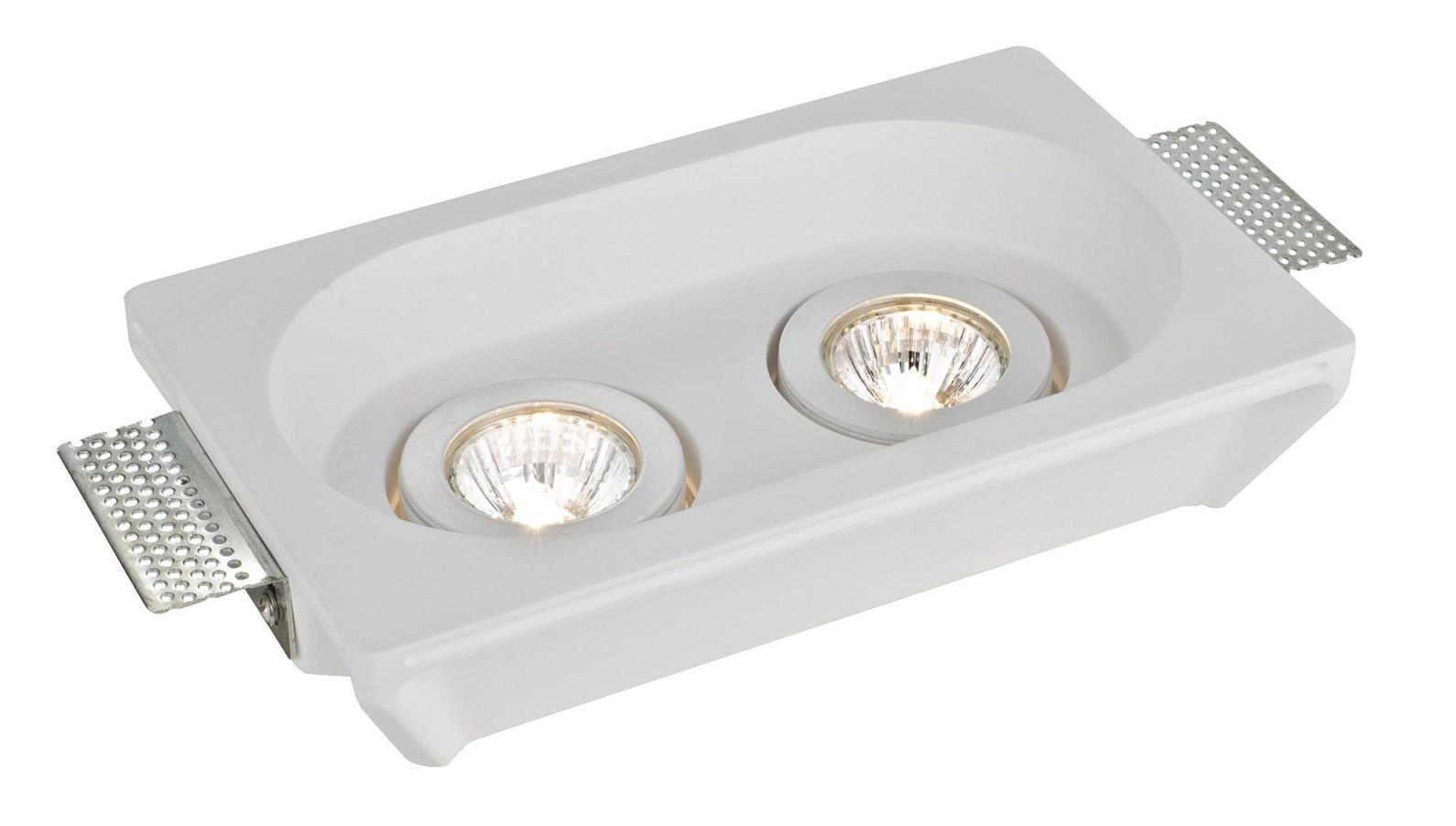 Светильник встраиваемый Arte lampСветильники встраиваемые<br>Стиль светильника: модерн, Диаметр: 155, Форма светильника: прямоугольник, Материал светильника: металл, Количество ламп: 2, Тип лампы: накаливания, Мощность: 70, Патрон: GU10, Цвет арматуры: белый, Назначение светильника: для комнаты, Вес нетто: 1.7, Коллекция: 9215<br>