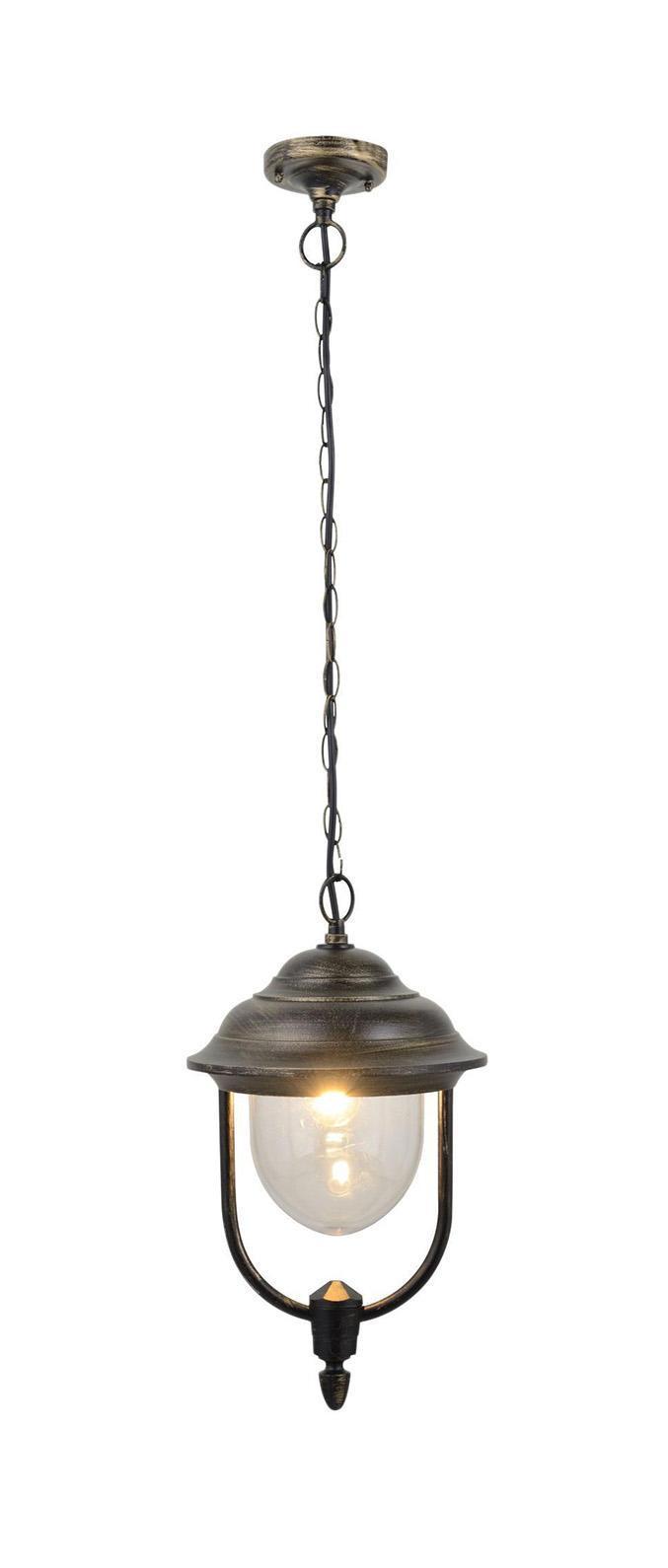 Светильник уличный Arte lampСветильники уличные<br>Мощность: 100, Тип установки: потолочный, Стиль светильника: классика, Материал светильника: стекло, Количество ламп: 1, Тип лампы: накаливания, Патрон: Е27, Цвет арматуры: бронза, Высота: 400, Вес нетто: 1.4, Коллекция: 1485<br>
