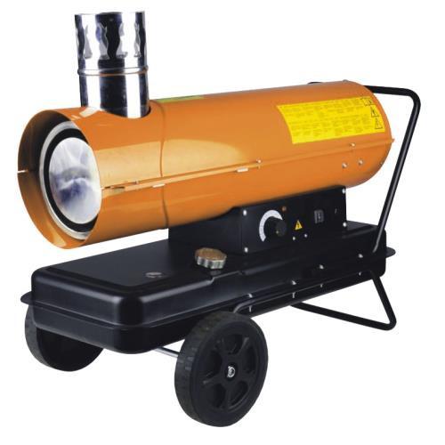 Тепловые пушки и нагреватели (промышленные)