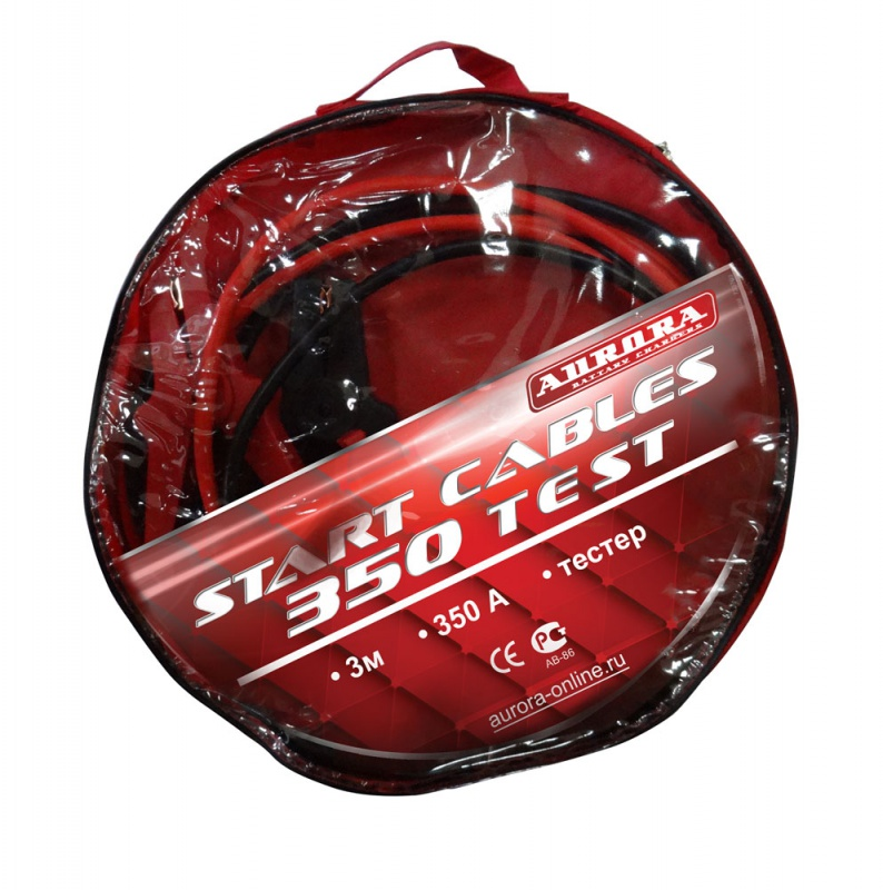 ������� ��� ������������ Aurora Start cables 350 test