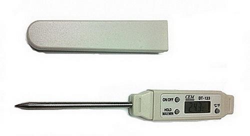 Фото 3/3 DT-133, Цифровой термометр