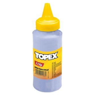 Мел TopexВспомогательный малярный инструмент<br>Тип: мел,<br>Цвет: синий<br>