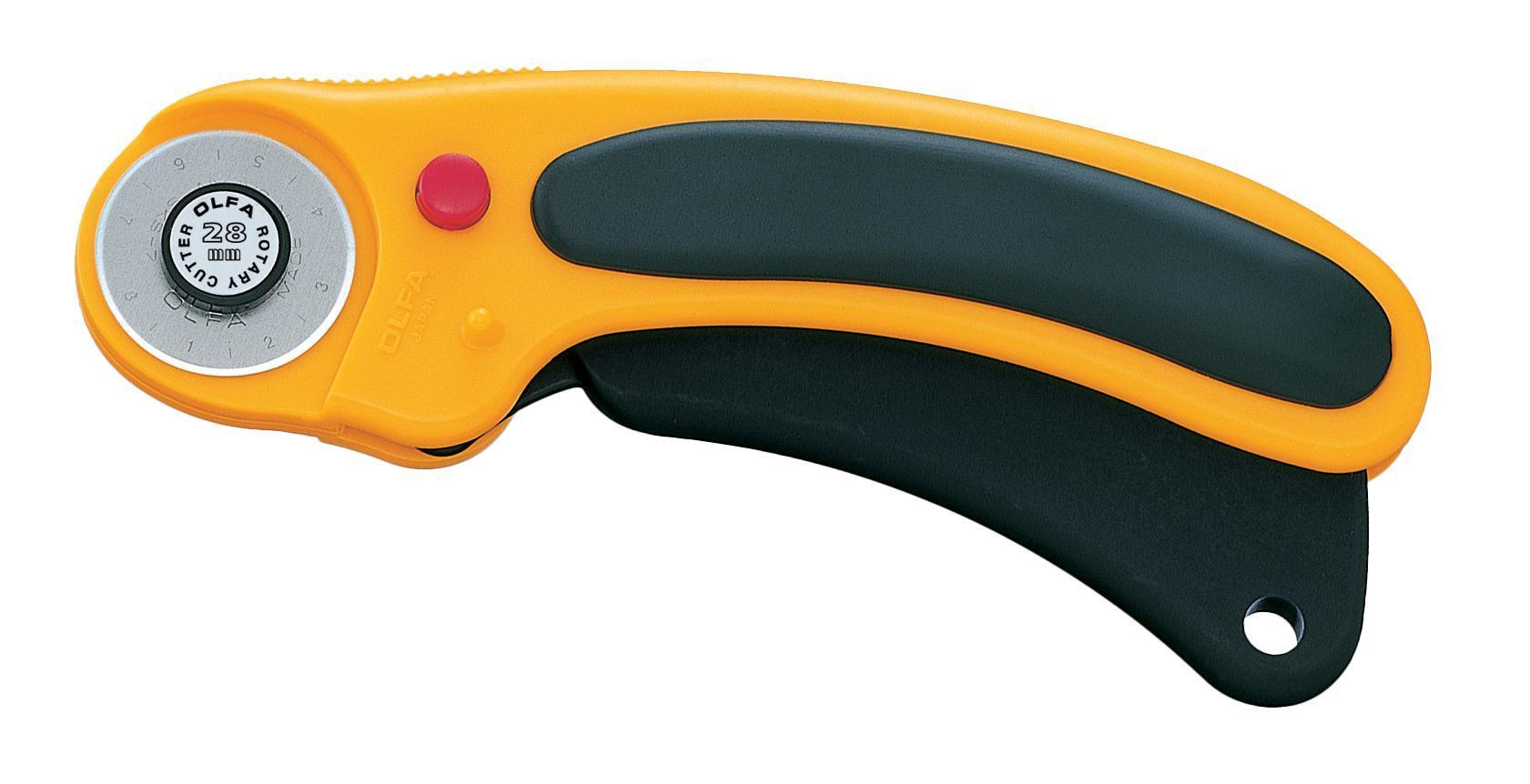 Нож строительный OlfaНожи ручные<br>Тип: нож,<br>Тип ножа: дисковый,<br>Материал рукоятки: пластик<br>