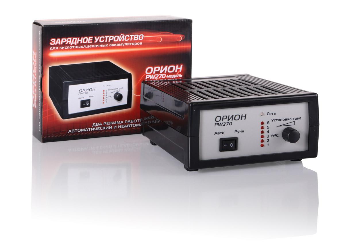 Зарядное устройство ОРИОН ОБОРОНПРИБОР (Рязань)Зарядные и пуско-зарядные устройства<br>Максимальный ток заряда: 6,<br>Минимальный ток заряда: 0.6,<br>Пиковый выходной ток: 6,<br>Назначение зарядного устройства: зарядное,<br>Напряжение аккумулятора: 12,<br>Размеры: 210х155х85,<br>Вес нетто: 0.85,<br>Встроенный вентилятор: есть<br>