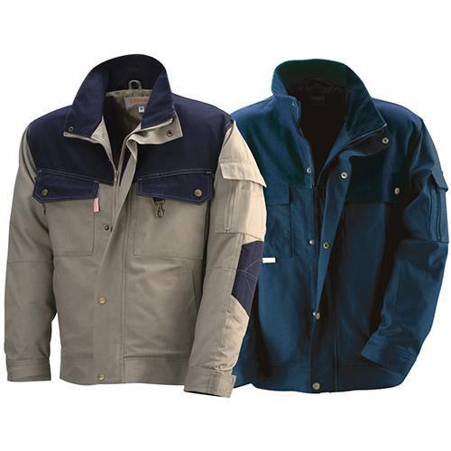 Куртка KapriolКуртки<br>Тип: куртка,<br>Размер: 48-50,<br>Материал: хлопок,<br>Пол: мужской,<br>Цвет: синий<br>светло-коричневый,<br>Сезон: 4 сезона,<br>Плотность ткани: 290<br>