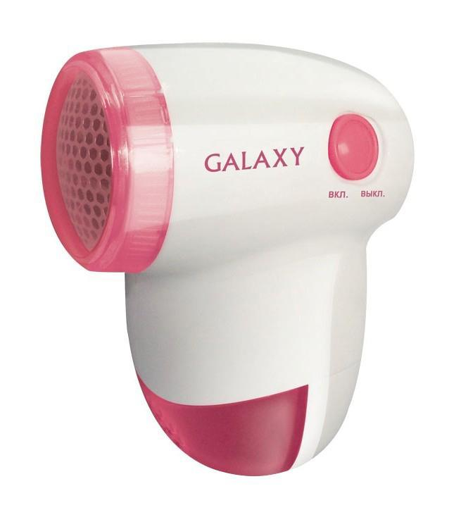 Машинка для удаления катышков GalaxyМашинки для удаления катышков<br>Источники питания: AA,<br>Материал лезвий: сталь,<br>Защитная крышка: есть<br>