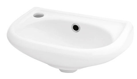 Раковина SantekРаковины (умывальники)<br>Тип: раковина,<br>Назначение умывальника(раковины): для туалета,<br>Ширина: 385,<br>Глубина: 360,<br>Форма раковины: полукруглая,<br>Цвет: белый,<br>Отверстие под смеситель: да,<br>Материал: керамика,<br>Мини раковина: есть,<br>Тип установки раковины: подвесной,<br>Размер: 385x360x155мм<br>