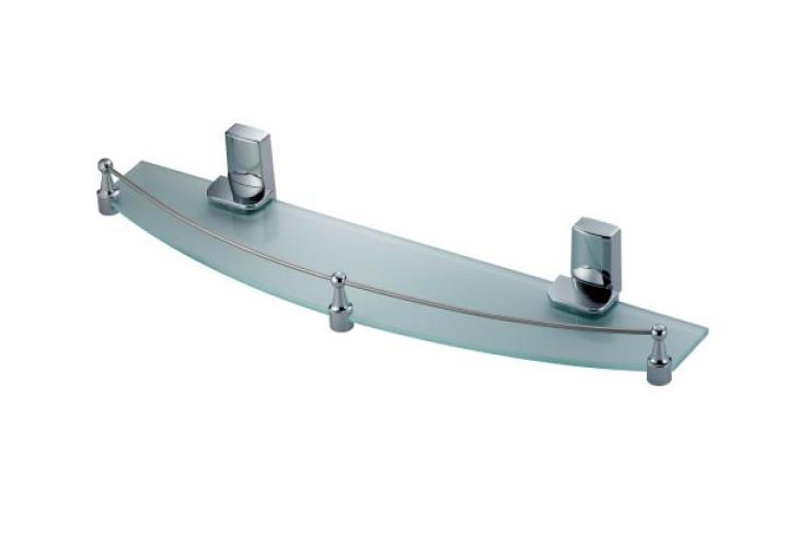 Полка WasserkraftАксессуары для ванной комнаты<br>Назначение аксессуара: полка,<br>Материал: стекло,<br>Высота: 70,<br>Ширина: 500,<br>Способ крепления: настенный<br>