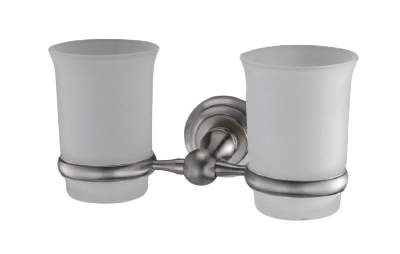 Держатель WasserkraftДержатели для ванной комнаты<br>Назначение: для стакана,<br>Цвет покрытия: хром,<br>Материал: стекло,<br>Способ крепления: на стену,<br>Высота: 100,<br>Ширина: 200,<br>Глубина: 110<br>