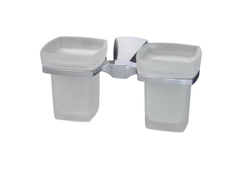 Держатель WasserkraftДержатели для ванной комнаты<br>Назначение: для стакана,<br>Цвет покрытия: хром,<br>Материал: стекло,<br>Способ крепления: на стену,<br>Высота: 100,<br>Ширина: 200,<br>Глубина: 203<br>