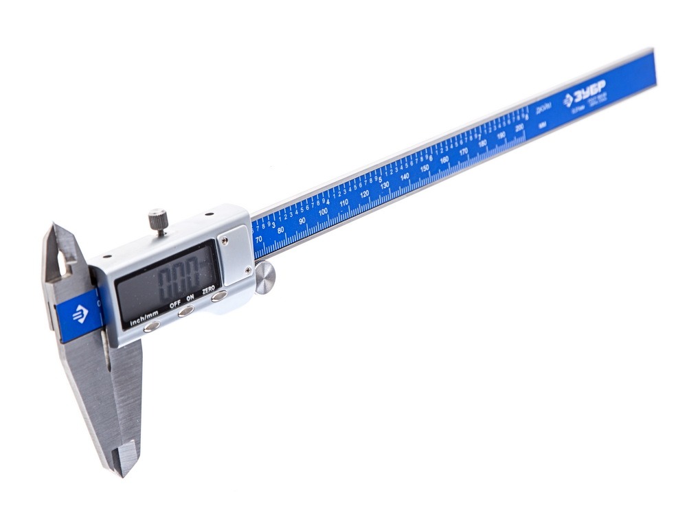 Штангенциркуль ЗУБРШтангенциркули<br>Тип штангенциркуля: электронный,<br>Конструкция: ШЦЦ,<br>Длина (мм): 200,<br>Шаг измерения: 0.1,<br>Погрешность нивелирования: 0.1<br>