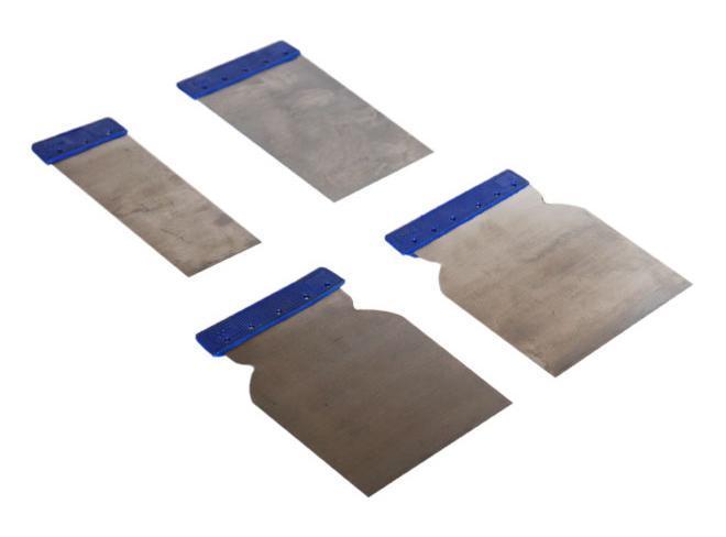 Набор шпателей SantoolШпатели<br>Материал лезвия: пластик,<br>Ширина: 120,<br>Длина (мм): 15<br>