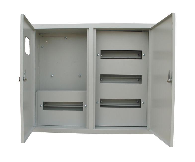 Щит RucelfЩиты электрические, боксы<br>Тип: щит, Тип установки: встраиваемый, Материал: сталь, Степень защиты от пыли и влаги: IP 31, Использование: в помещении, Высота: 155, Ширина: 600, Глубина: 500, Толщина: 1, Замок: есть, Окно: есть, DIN рейка: четыре, Количество модулей: 48<br>