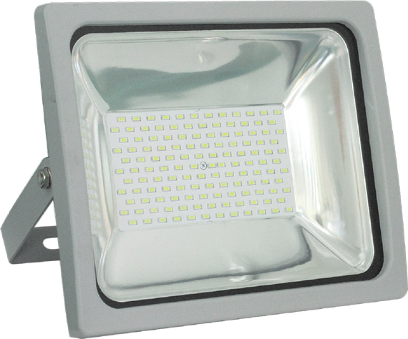 Прожектор LeekПрожекторы<br>Мощность: 70,<br>Ширина: 286,<br>Длина (мм): 144,<br>Высота: 236,<br>Тип лампы: светодиодная,<br>Патрон: LED,<br>Цвет арматуры: белый,<br>Степень защиты от пыли и влаги: IP 65,<br>Тип: стационарный,<br>Назначение прожектора: уличный,<br>Цветовая температура: 6500<br>