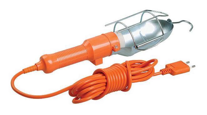 Светильник переносной SternСветильники переносные<br>Мощность: 60,<br>Количество ламп: 1,<br>Назначение светильника: уличный,<br>Материал: сталь,<br>Длина провода: 5,<br>Тип лампы: накаливания и галогенные,<br>Патрон: Е27,<br>Степень защиты от пыли и влаги: IP 20<br>