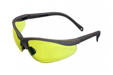 Очки защитные AmparoЗащитные очки<br>Тип очков: открытые,<br>Цвет: желтый,<br>Материал: поликарбонат,<br>Использование с корректирующими очками: есть,<br>Защита от ультрафиолетового излучения: есть<br>