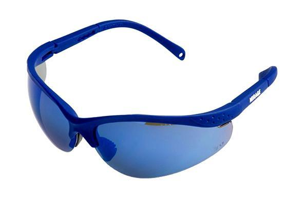 Очки защитные AmparoЗащитные очки<br>Тип очков: открытые,<br>Цвет: синий,<br>Материал: поликарбонат,<br>Использование с корректирующими очками: есть,<br>Защита от ультрафиолетового излучения: есть<br>