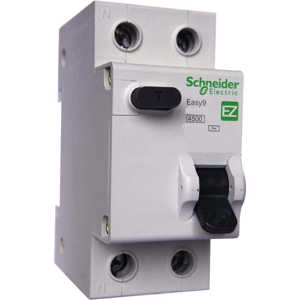 УЗО Schneider electricАвтоматические выключатели<br>Номинальный ток: 25,<br>Тип выключателя: УЗО,<br>Количество полюсов: 2,<br>Номинальная отключающая способность: 6000,<br>Номинальный отключающий дифференциальный ток: 30,<br>Степень защиты от пыли и влаги: IP 20,<br>Количество модулей: 2<br>