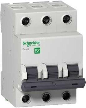 Автомат Schneider electricАвтоматические выключатели<br>Номинальный ток: 10,<br>Тип выключателя: автомат,<br>Количество полюсов: 3,<br>Номинальная отключающая способность: 4500,<br>Степень защиты от пыли и влаги: IP 20,<br>Количество модулей: 3<br>