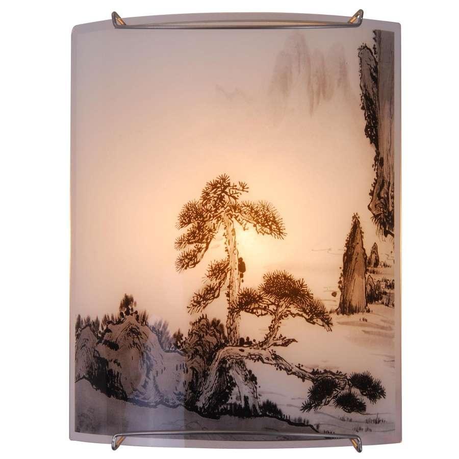 Светильник настенно-потолочный GloboСветильники настенно-потолочные<br>Мощность: 40,<br>Количество ламп: 1,<br>Назначение светильника: для комнаты,<br>Стиль светильника: модерн,<br>Материал светильника: металл, стекло,<br>Тип лампы: накаливания,<br>Длина (мм): 110,<br>Ширина: 210,<br>Высота: 270,<br>Патрон: Е14,<br>Цвет арматуры: никель,<br>Вес нетто: 0.7<br>