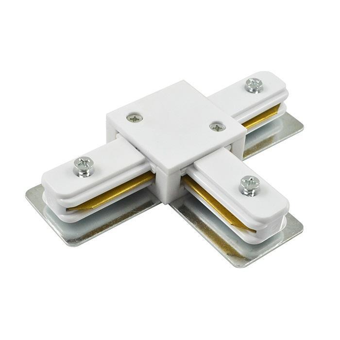 Коннектор Arte lampТрек системы<br>Тип: коннектор,<br>Стиль светильника: хай-тек,<br>Материал светильника: металл,<br>Цвет арматуры: черный<br>