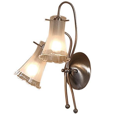 Бра CitiluxНастенные светильники и бра<br>Тип: бра,<br>Назначение светильника: для комнаты,<br>Стиль светильника: флористика,<br>Материал светильника: металл, стекло,<br>Тип лампы: накаливания,<br>Количество ламп: 2,<br>Мощность: 60,<br>Патрон: Е14,<br>Цвет арматуры: серебристый,<br>Длина (мм): 160,<br>Ширина: 260,<br>Высота: 350,<br>Диаметр: 260<br>
