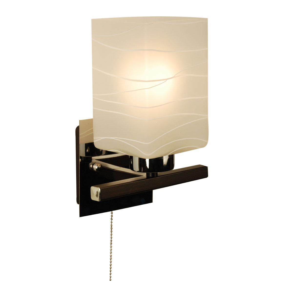 Бра CitiluxНастенные светильники и бра<br>Тип: бра, Назначение светильника: для комнаты, Стиль светильника: модерн, Материал светильника: металл, стекло, Тип лампы: накаливания, Количество ламп: 1, Мощность: 75, Патрон: Е27, Цвет арматуры: серебристый, Длина (мм): 140, Ширина: 180, Высота: 230, Диаметр: 180<br>