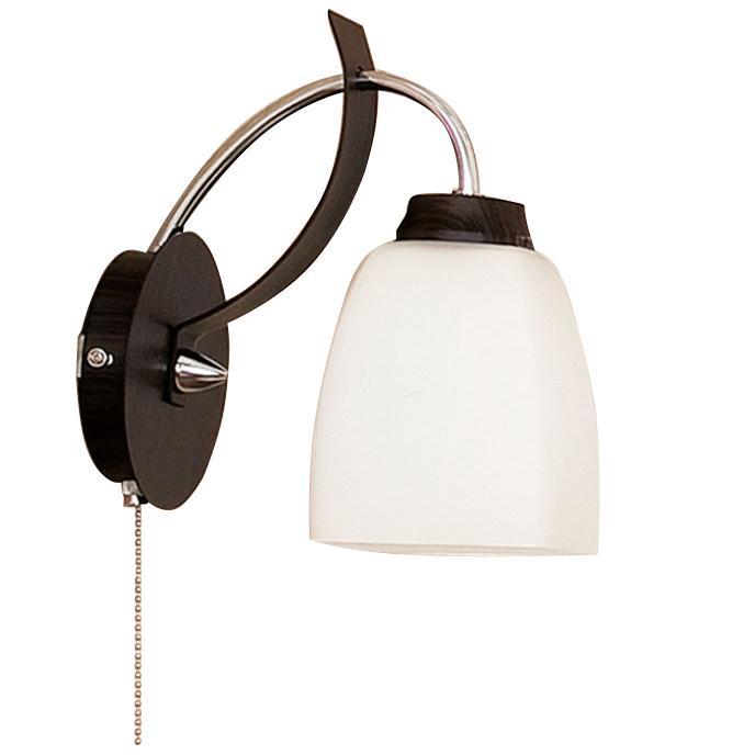 Бра CitiluxНастенные светильники и бра<br>Тип: бра,<br>Назначение светильника: для комнаты,<br>Стиль светильника: модерн,<br>Материал светильника: металл, дерево, стекло,<br>Тип лампы: накаливания,<br>Количество ламп: 1,<br>Мощность: 75,<br>Патрон: Е27,<br>Цвет арматуры: серебристый,<br>Длина (мм): 200,<br>Ширина: 120,<br>Высота: 220,<br>Диаметр: 120<br>