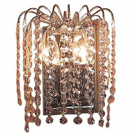 Бра CitiluxНастенные светильники и бра<br>Тип: настенный,<br>Назначение светильника: для комнаты,<br>Стиль светильника: модерн,<br>Материал светильника: металл, хрусталь,<br>Тип лампы: накаливания,<br>Количество ламп: 2,<br>Мощность: 60,<br>Патрон: Е14,<br>Цвет арматуры: серебристый,<br>Длина (мм): 1200,<br>Ширина: 200,<br>Высота: 250,<br>Диаметр: 200<br>