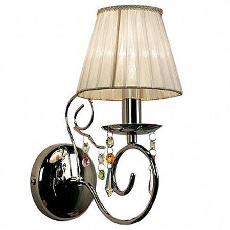 Бра CitiluxНастенные светильники и бра<br>Тип: бра,<br>Назначение светильника: для комнаты,<br>Стиль светильника: модерн,<br>Материал светильника: металл, ткань,<br>Тип лампы: накаливания,<br>Количество ламп: 1,<br>Мощность: 60,<br>Патрон: Е14,<br>Цвет арматуры: золото,<br>Длина (мм): 180,<br>Ширина: 110,<br>Высота: 260,<br>Диаметр: 110<br>
