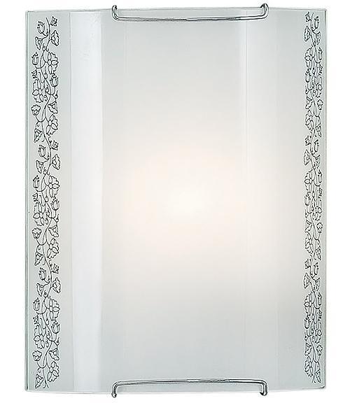 Бра CitiluxНастенные светильники и бра<br>Тип: настенный,<br>Назначение светильника: для комнаты,<br>Стиль светильника: классика,<br>Материал светильника: металл, стекло,<br>Тип лампы: накаливания,<br>Количество ламп: 1,<br>Мощность: 100,<br>Патрон: Е27,<br>Цвет арматуры: белый,<br>Длина (мм): 90,<br>Ширина: 200,<br>Высота: 250,<br>Диаметр: 200<br>