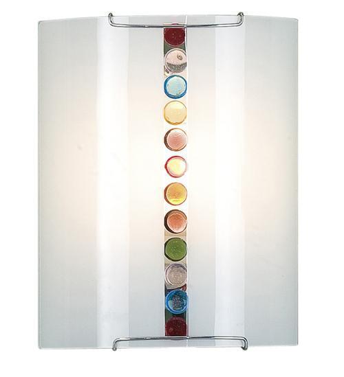 Бра CitiluxНастенные светильники и бра<br>Тип: настенный, Назначение светильника: для комнаты, Стиль светильника: модерн, Материал светильника: металл, стекло, Тип лампы: накаливания, Количество ламп: 1, Мощность: 100, Патрон: Е27, Цвет арматуры: белый, Длина (мм): 90, Ширина: 200, Высота: 250, Диаметр: 250<br>