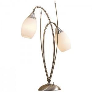Лампа настольная CitiluxЛампы настольные<br>Тип настольной лампы: декоративная, Назначение светильника: для комнаты, Стиль светильника: модерн, Материал светильника: металл, стекло, Диаметр: 350, Высота: 450, Количество ламп: 2, Тип лампы: накаливания, Мощность: 60, Патрон: Е14, Цвет арматуры: золото<br>