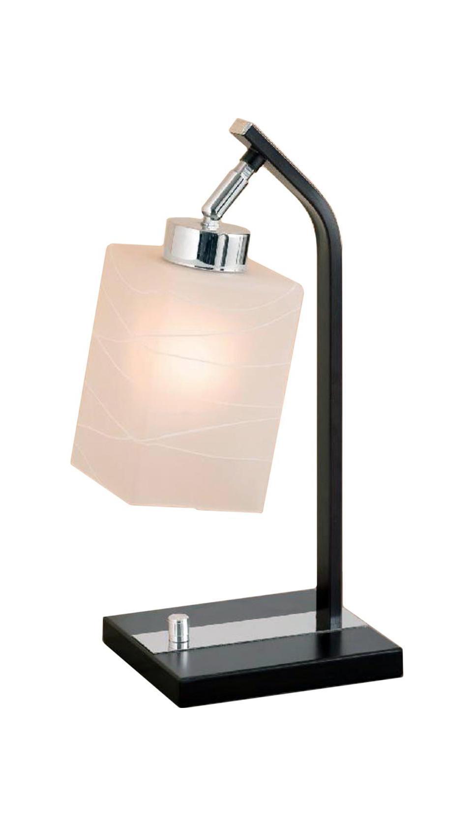 Лампа настольная CitiluxЛампы настольные<br>Тип настольной лампы: декоративная,<br>Назначение светильника: для комнаты,<br>Стиль светильника: современный,<br>Материал светильника: металл, стекло,<br>Длина (мм): 195,<br>Ширина: 155,<br>Высота: 380,<br>Количество ламп: 1,<br>Тип лампы: накаливания,<br>Мощность: 75,<br>Патрон: Е27,<br>Цвет арматуры: белый<br>