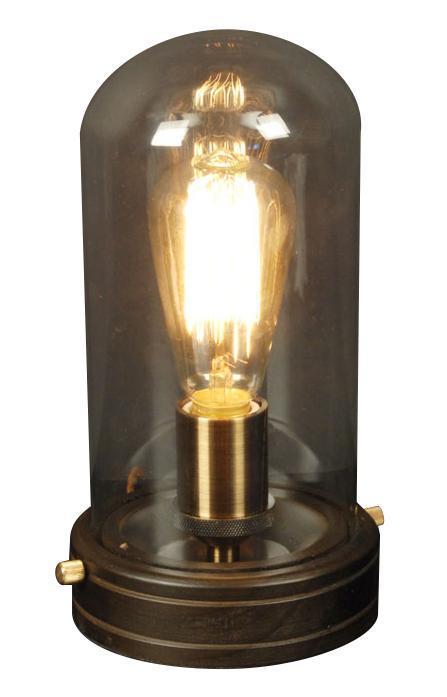 Лампа настольная CitiluxЛампы настольные<br>Тип настольной лампы: декоративная,<br>Назначение светильника: для комнаты,<br>Стиль светильника: модерн,<br>Материал светильника: металл, стекло,<br>Диаметр: 140,<br>Высота: 115,<br>Количество ламп: 1,<br>Тип лампы: накаливания,<br>Мощность: 100,<br>Патрон: Е27,<br>Цвет арматуры: дерево<br>