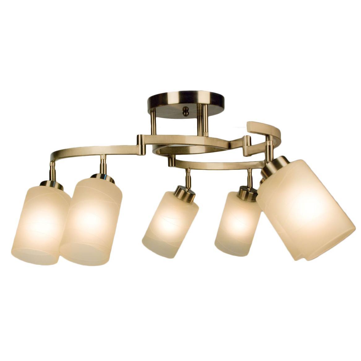 Люстра CitiluxЛюстры<br>Назначение светильника: для гостиной, Стиль светильника: модерн, Тип: потолочная, Материал светильника: металл, стекло, Материал плафона: стекло, Материал арматуры: металл, Длина (мм): 300, Ширина: 300, Диаметр: 740, Высота: 370, Количество ламп: 6, Тип лампы: накаливания, Мощность: 75, Патрон: Е27, Цвет арматуры: серебристый, Родина бренда: Дания<br>