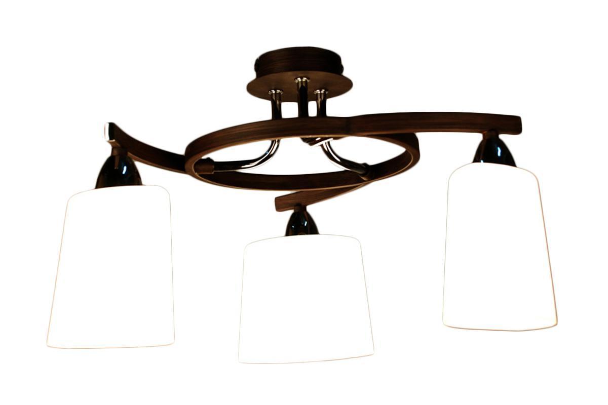 Люстра CitiluxЛюстры<br>Назначение светильника: для комнаты, Стиль светильника: модерн, Тип: потолочная, Материал светильника: металл, Материал арматуры: металл, Диаметр: 400, Высота: 270, Количество ламп: 3, Тип лампы: накаливания, Мощность: 60, Патрон: Е14, Цвет арматуры: серебристый, Родина бренда: Дания<br>